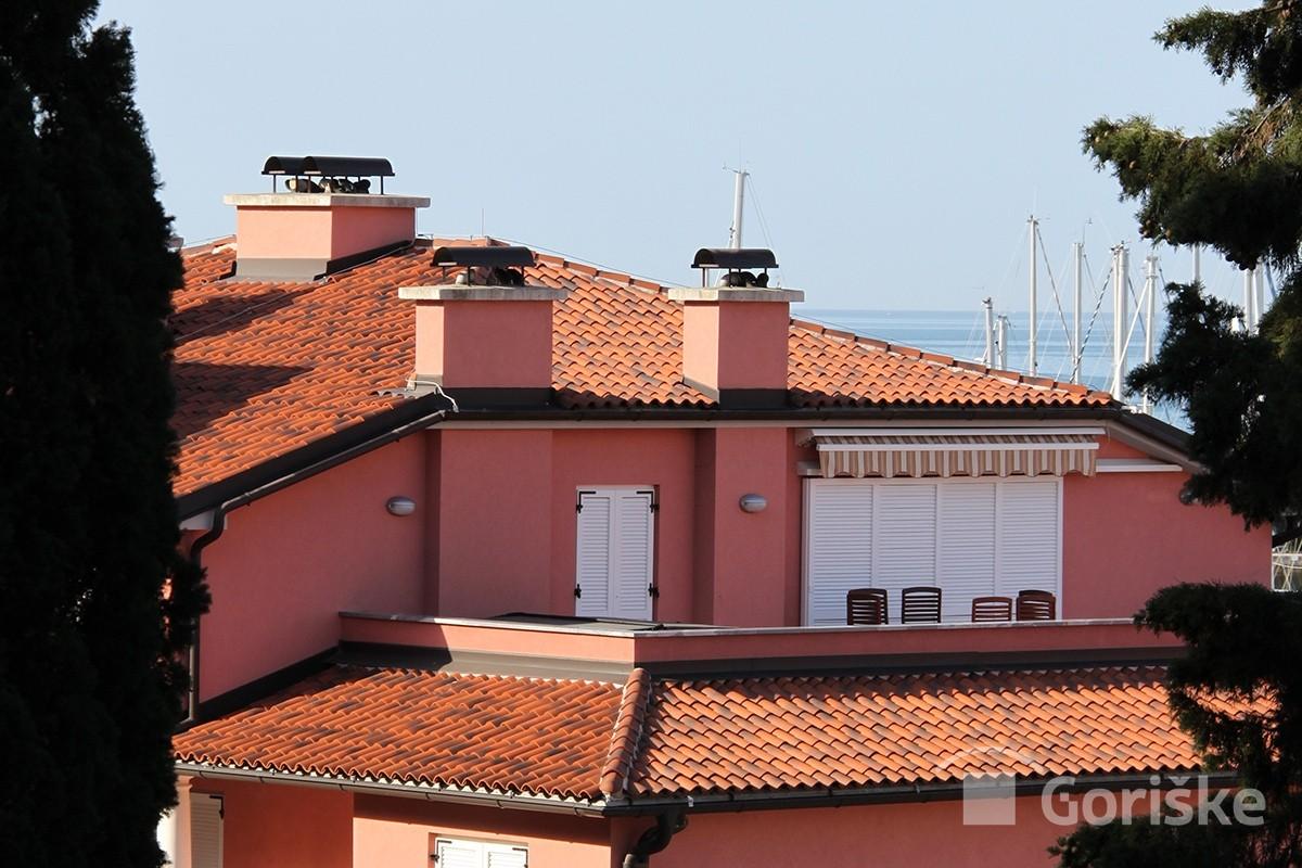 Portorož - antique clay roof tiles