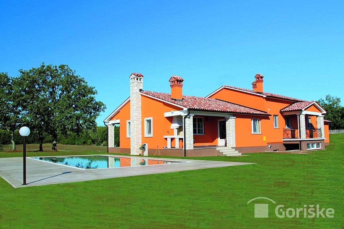 Labin - Istrian clay roof tiles