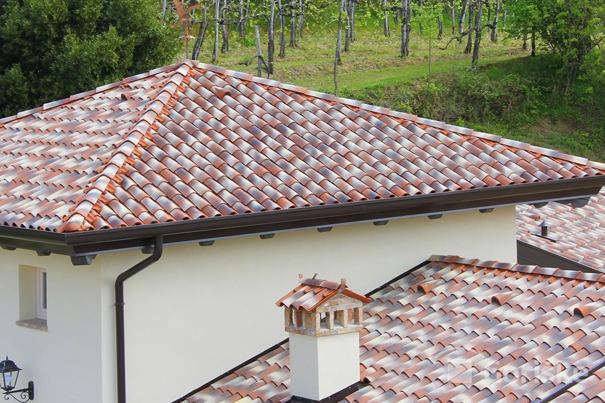 Goriška brda - Primorska type of clay roof tiles