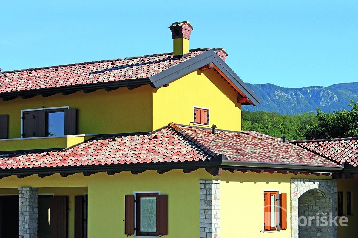 Preserje - Primorska type of clay roof tiles