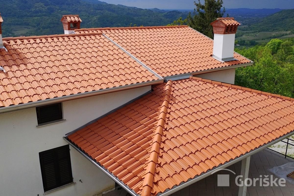 Preserje - Alpe Jadran roof tile