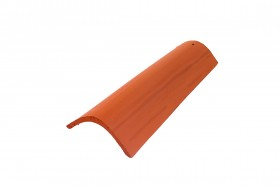 Relief clay roof tiles